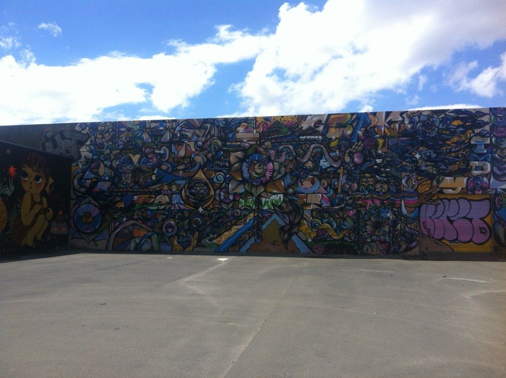 Berst, From the Ground Up, Sydenham, Christchurch, 2013
