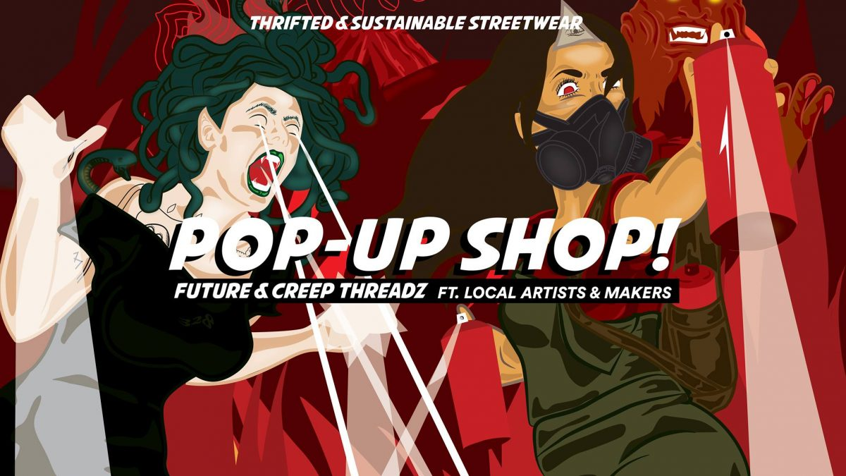 Future X Creep Threadz Pop-Up Shop and Launch