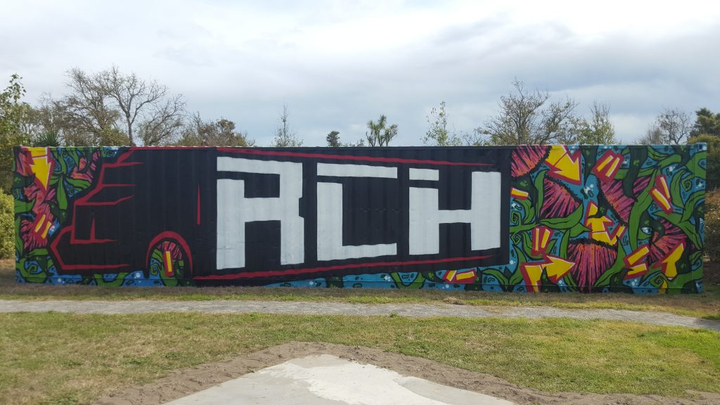 RCH container mural, March 2019