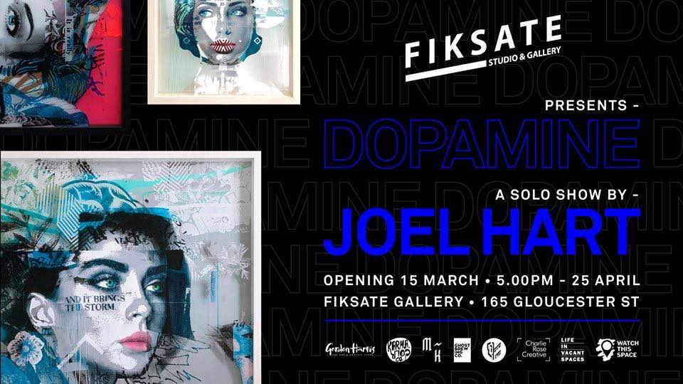 Joel Hart - Dopamine, Fiksate Gallery, March 15 - April 25