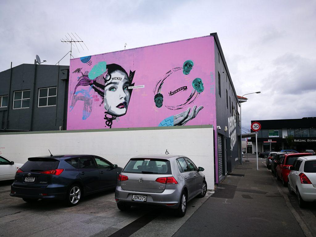 Supreme Supreme mural, Welles Street, 2017