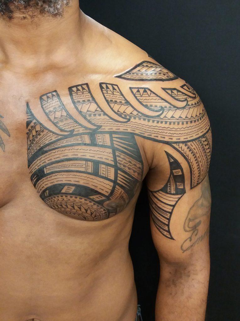 Custom freehand tatau by Juse1