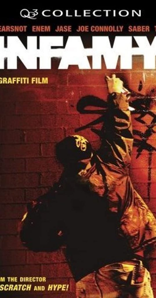 The cover of the graffiti documentary Infamy