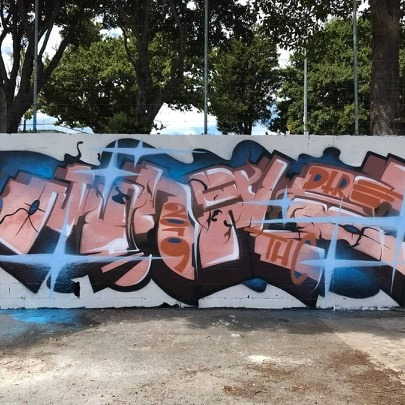 A tribute to Jungle by Berst, Auckland, 2019. (Photo supplied by Ikarus)