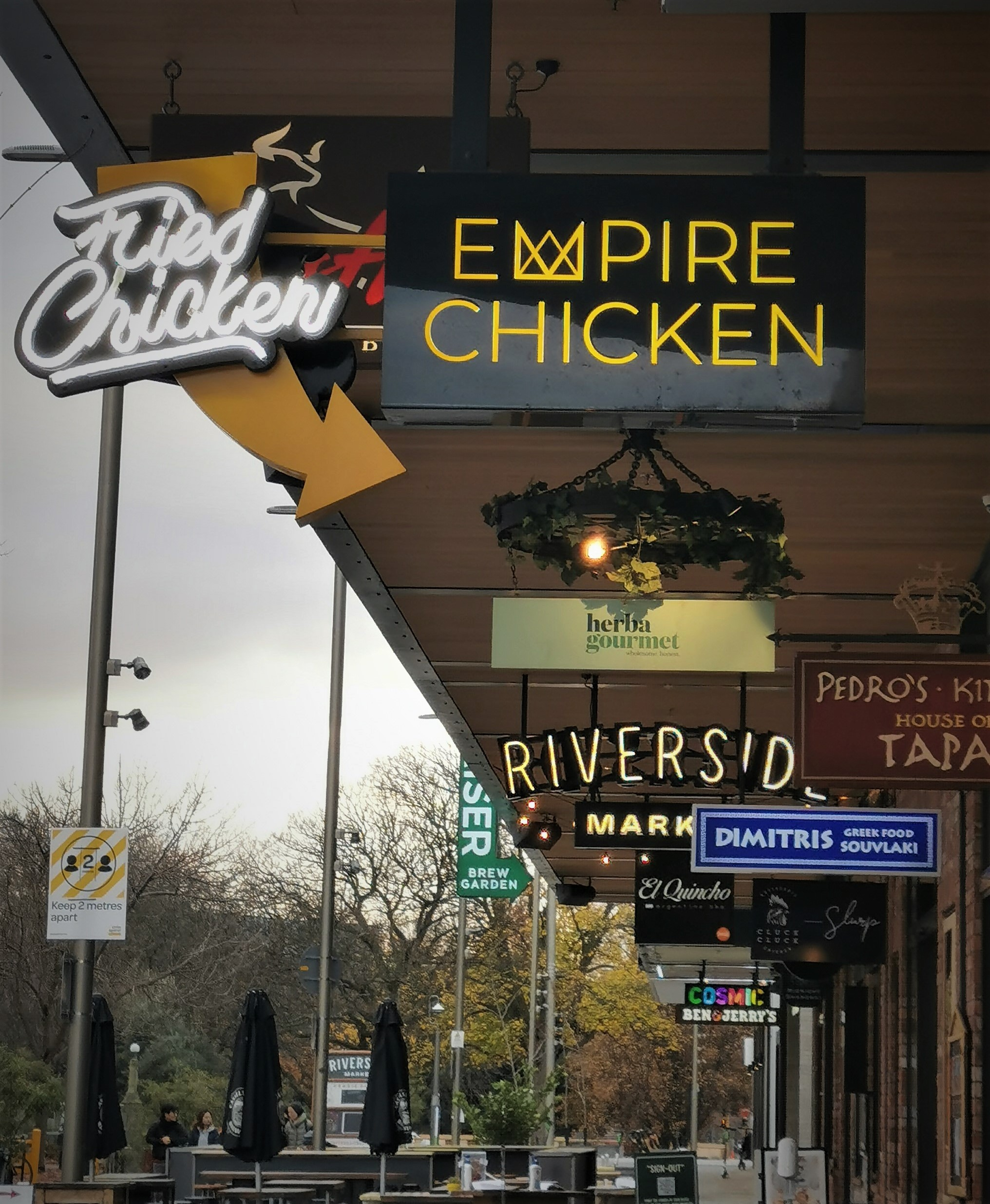 Empire Chicken at Riverside Market, a lifesaver for A Tribe Called Haz