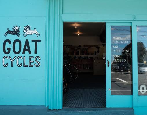 Cashmere's Goat Cycles, Tom's go to to take care of his ride (Photo provided by Tom Kerr)