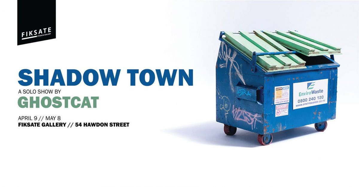 Ghostcat – Shadow Town @ Fiksate
