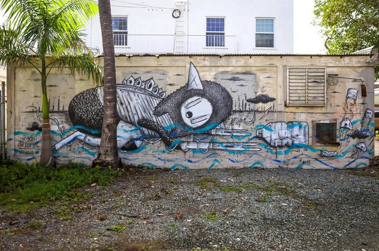 Out of Touch, for Sea Walls in St Croix,2020 (from http://crackedink.com/)