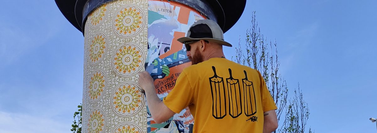 The Paste-Up Project – 'Community, Collaboration and Connection' by teethlikescrewdrivers